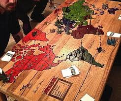 Wooden Sequence Board Game Risk Board Game Coffee Table 31