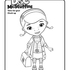 Doc Mcstuffins Printable Coloring Pages At Getdrawingscom Free