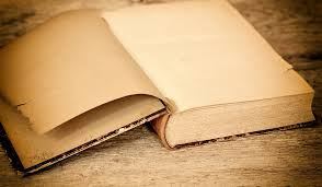 Image result for old book with blank pages