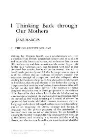 feminism essays com de facto feminism essays straight outta  thinking back through our mothers springer inside