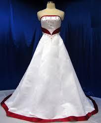 Strapless Embroidery Two Tone Chapel Train Wedding Dress White