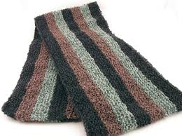 Knitted Scarf Patterns Interesting Free Knitting Pattern Ethan Scarf