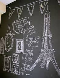 Why sew a banner if you can draw one? Chalkboard ...