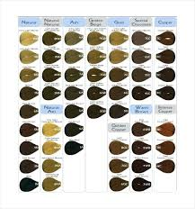 Aveda Color Chart 2018 Aveda Hair Color Chart Swatch Guide Lajoshrich Com