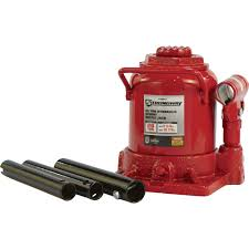 Strongway 20-Ton Hydraulic Stubby Bottle Jack | Northern Tool +