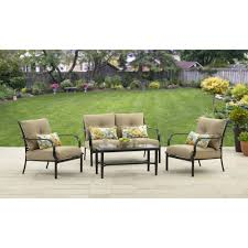 better homes and gardens wellington hills 4 piece conversation set com