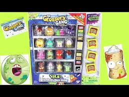Grossery Gang Vending Machine Fascinating ACCESS YouTube