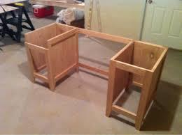 building office desk. home office desk plans modren leg and tutorial from sawdust girl building s
