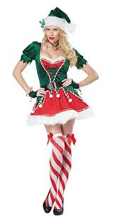 Sexy Christmas Elf Costume Sc 1 St Absolute Christmas