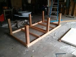 make outdoor concrete ping pong table designs