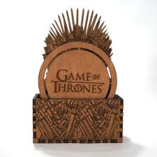 Engraved Wooden Music Box Game Of Thrones Game of Thrones Key Holder Iron Throne Laser cut and laser 47