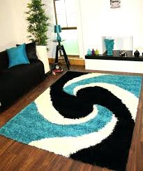 turquoise rugs for living room modern gy teal blue black thick easy clean aqua teal gray area rug for the office rugs living room