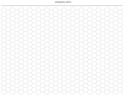 Hexagon Chart Excel Hexagonal Graph Paper Template