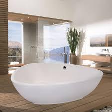 deep soaking tub free standing jetted bathtub large freestanding tub modern soaking tub cast iron freestanding