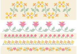 Floral Cross Stitch Patterns Amazing Decoration