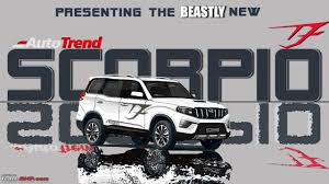 Mahindra Scorpio Design Next Gen Mahindra Scorpio Codenamed Z101 Caught Testing