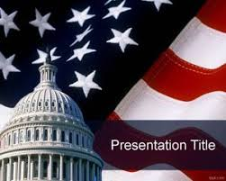 america ppt template free capitol powerpoint template for independence day