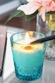 diy wood wick candle i love that ling wood sound