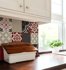 wall decal tiles tile decorative stickers set kitchen dinning room removable wall tiles tile art