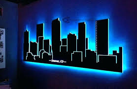 light up signs for bedroom home neon lights decor wall excellent