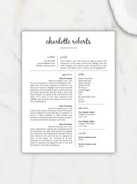 Creative Resume Template Resume For Word Pages Resume Template Instant Download Cv Template Resume Template Word Resume Pages