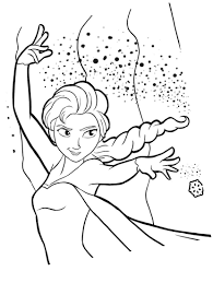 Coloriage Elsa Flocon De Neige Imprimer Sur Coloriages Info