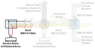 fire for smoke alarm wiring diagram gooddy org how do you interconnect smoke alarms? at Wiring A Smoke Detector Diagram