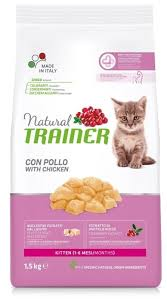 <b>Корм</b> для кошек <b>TRAINER Natural</b> Kitten Fresh Chicken dry (1.5 кг ...