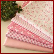 Aliexpress.com : Buy Pink fabric group Pre Cut Twill Cotton ... & Pink fabric group Pre-Cut Twill Cotton Quality Quilt Fabric Quarter Tissue  Bundle Sewing Handmade Adamdwight.com