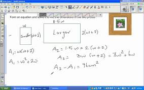word problem by forming quadratic equation from real life situation you