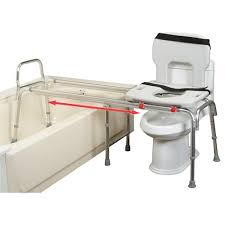long toilet to tub sliding transfer bench extra long bath safety bench