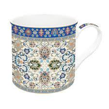 Easy Life Design Coffee Mugs Porcelain Mug 300 Ml In Gift Box Persian Cream
