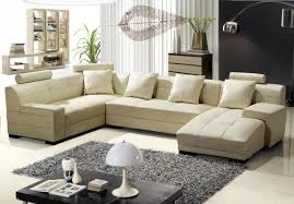 cream leather sofa houzz
