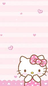Black And Pink Hello Kitty Wallpapers Wallpaper