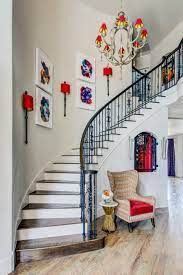 Decorating a feminine living room on their show, hgtv's home by novogratz, they were sure to incorporate the staircase as an. 27 Stylish Staircase Decorating Ideas How To Decorate Stairways