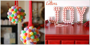 Candy Decorations 14 Candy Christmas Decorations To Sweeten Your Home
