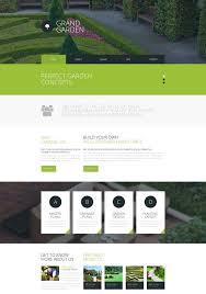 40 Best Gardening And Landscaping Website Templates FreshDesignweb Adorable Garden Web Design Design