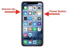 مدرسة في شاشة X طريقة أخذ جهاز Take-screenshot-iphone-x لقطة - زاد Iphone