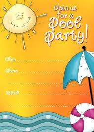 pool party invitation template printable com printable pool party invitation templates party invitatioin