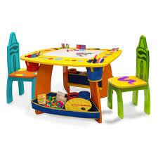 grow n up crayola wooden table amp chair set  walmartcom