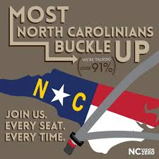 seat belt safety most north inians buckle up join us every seat