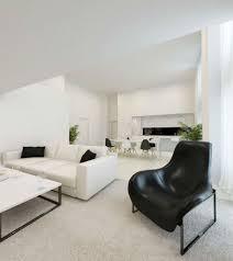 Living Room  Luxury Interior Designs Apartment Beige Sofas White - Living room style