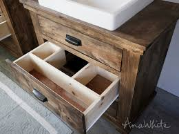 i spent about 150 a vanity including the sink to build these ones are a little more complicated because there are so many pieces that is what makes