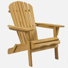 best choice products outdoor wood adirondack chair foldable patio lawn deck  garden furniture walmart