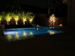 outdoor pool lighting. Gallery Of Landscape Lighting Around Swimming Pool For Contemporary Exterior Inspirations 2017 Color Outdoor A