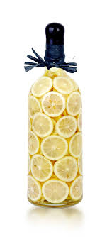 Decorative Vinegar Bottle GEB60L LIMONE Decorated Vinegar Bottle Decorative Vinegar 42