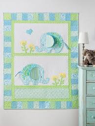 Exclusively Annie's Bobo Baby Elephants Quilt Pattern from Annie's ... & Exclusively Annie's Bobo Baby Elephants Quilt Pattern from Annie's Craft  Store. Order here: www Adamdwight.com