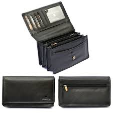 las womens large genuine real soft leather purse clutch luxury zips wallet