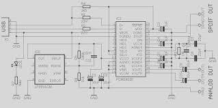 usb circuit page 4 computer circuits next gr usb audio interface based dac pcm2902