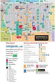 downtown kansas city parking map  visit kc